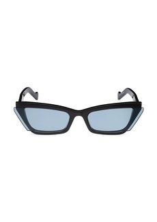 Fenty Inside Story 67MM Cat Eye Sunglasses