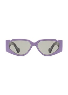 Fenty Off Record 57MM Rectangular Sunglasses