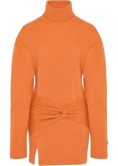 Fenty Turtleneck knit mini dress