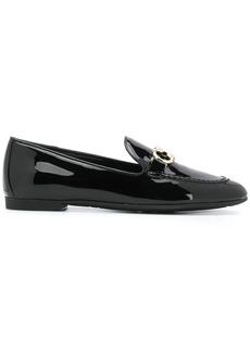 Ferragamo double Gancini loafers