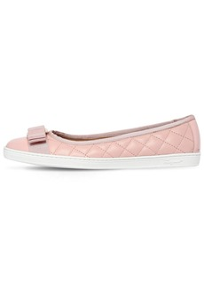 Ferragamo 10mm Rufina Quilted Leather Flats