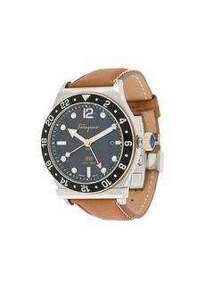Ferragamo 1898 Gmt Chronograph 44mm watch
