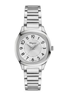 Ferragamo 36mm Watch w/ H-Link Bracelet Strap