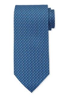 Ferragamo 3D Gancio Silk Tie