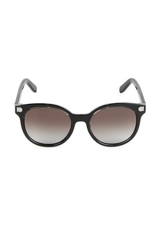 Ferragamo 53MM Gradient Circle Sunglasses