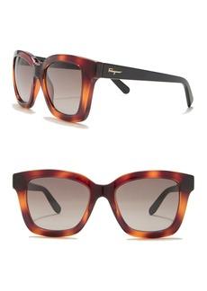 Ferragamo 53mm Square Sunglasses