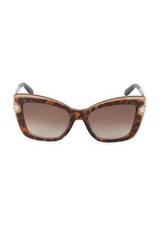 Ferragamo 54MM Cat Eye Sunglasses