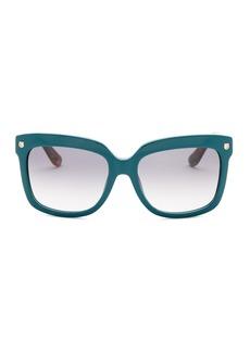 Ferragamo 55mm Square Fashion Sunglasses