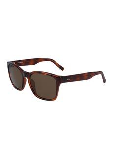Ferragamo 55mm Square Sunglasses