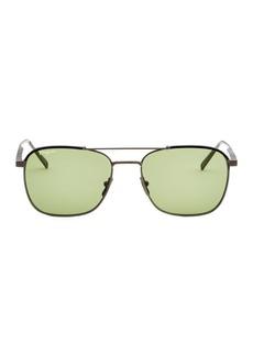 Ferragamo 56MM Aviators Sunglasses