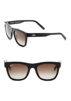 Ferragamo 56MM Square Sunglasses