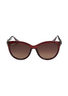 Ferragamo 57MM Square Sunglasses
