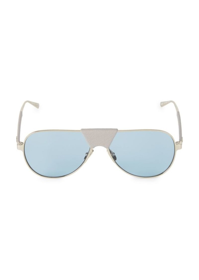 Ferragamo 59MM Aviator Sunglasses