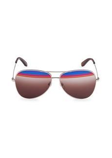 Ferragamo 60MM Aviator Sunglasses
