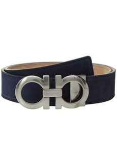 Ferragamo Adjustable Dress Double Gancini Belt