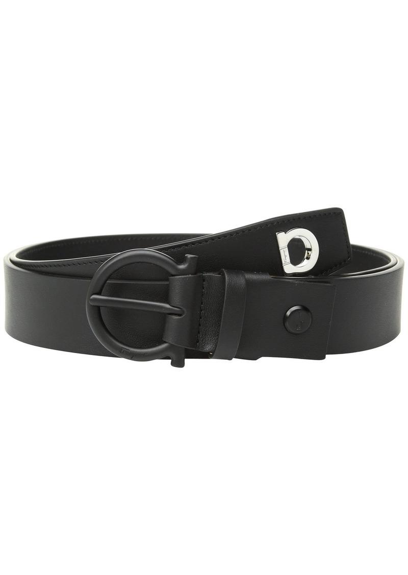 Ferragamo Adjustable Wrap Belt with Gancio