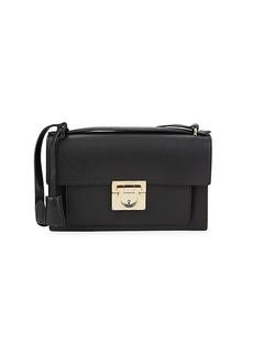 Ferragamo Aileen Leather Shoulder Bag