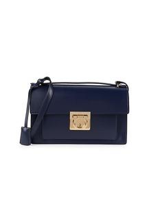 Ferragamo Aileen Omufasa Boxed Leather Shoulder Bag