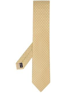 Ferragamo all over logo print tie