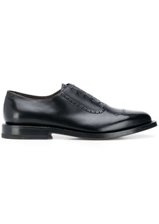 Ferragamo almond-toe Derby brogues