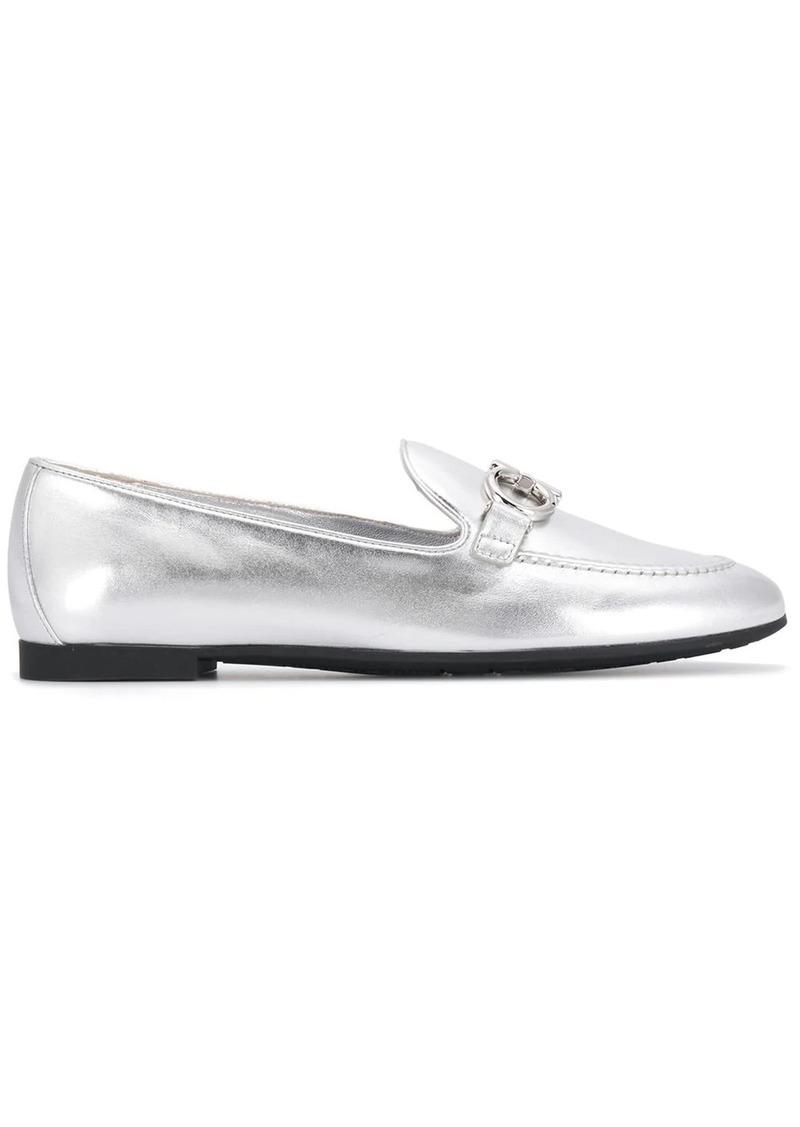 Ferragamo almond toe slippers