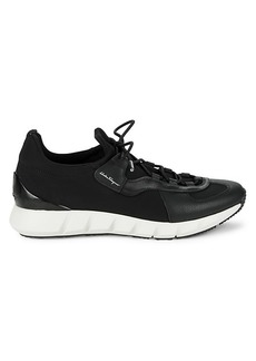 Ferragamo Alpenicole Leather & Textile Sneakers