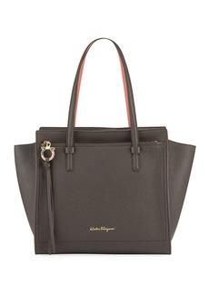 Ferragamo Amy Medium Leather Tote Bag