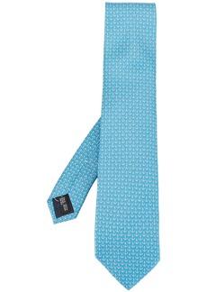Ferragamo anchor print tie