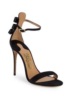 Ferragamo Angie Suede Sandals