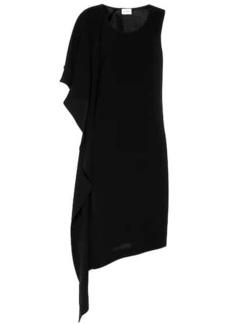 Ferragamo Asymmetric silk dress