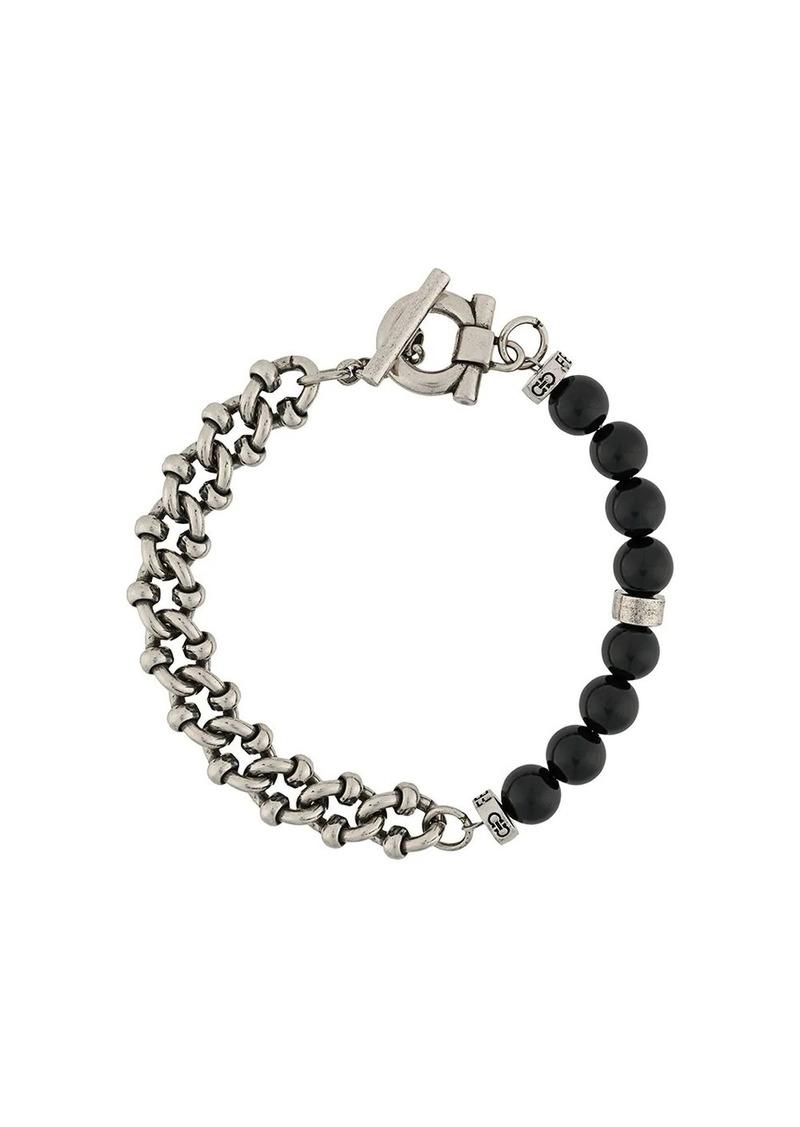 Ferragamo beaded-chain bracelet