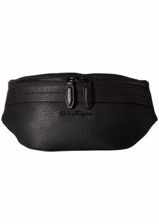 Ferragamo Black on Black Belt Bag - 24A128