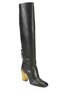 Ferragamo Blavy Leather Boots