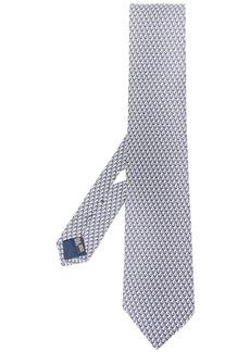 Ferragamo boat print silk tie