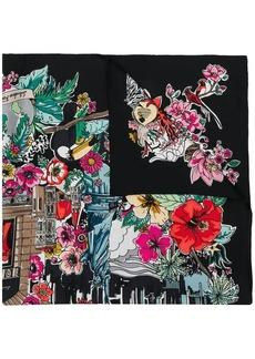 Ferragamo Boutiques print scarf