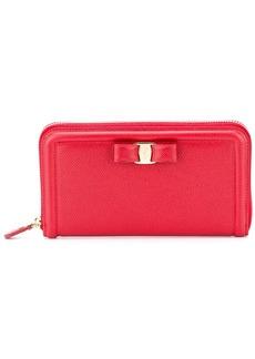Ferragamo bow detail wallet
