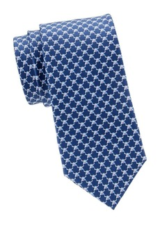 Ferragamo Bull Silk Tie