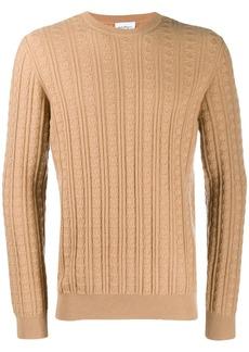 Ferragamo cable knit jumper