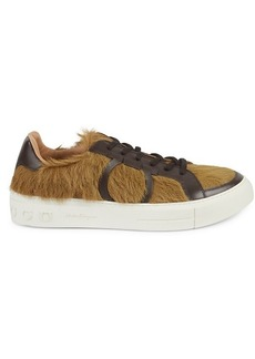 Ferragamo Calf Hair & Leather Sneakers