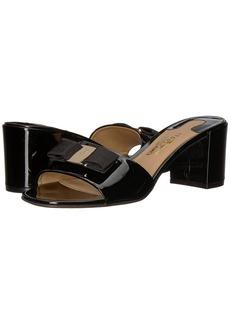 Ferragamo Calfskin Mid-Heel Sandal