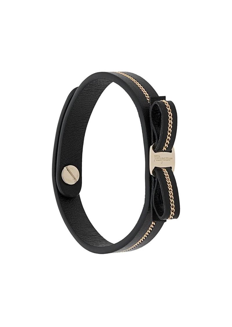 Ferragamo chain-embellished bracelet