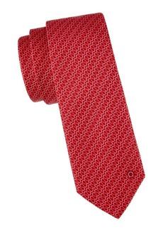 Ferragamo Chain Link Silk Tie