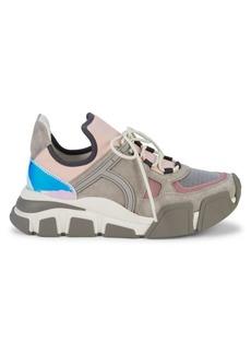 Ferragamo Cimbrazoomi Colorblock Sneakers