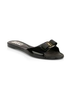 Ferragamo Cirella Flat Jelly Sandals