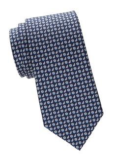Ferragamo Citrus Silk Tie