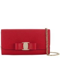 Ferragamo clasp detail wallet