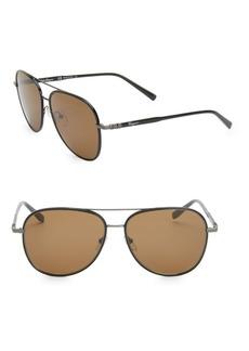 Ferragamo Classic 60MM Aviator Sunglasses