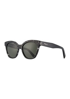 Ferragamo Classic Cat-Eye Zyl® Sunglasses
