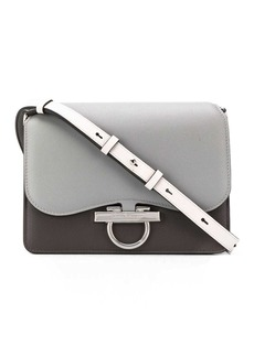 Ferragamo Classic Flab two-tone shoulder bag