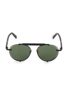 Ferragamo Classic Logo Forward 52MM Aviator Sunglasses
